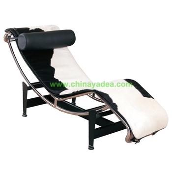 Lc4 cassina pelle sedia a sdraio le corbusier mobili - Le corbusier sedia ...