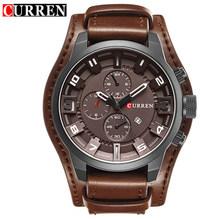 2019 CURREN Мужские часы Топ бренд Роскошные модные повседневные спортивные кварцевые часы мужские военные наручные часы мужские Relogio Masculino(Китай)