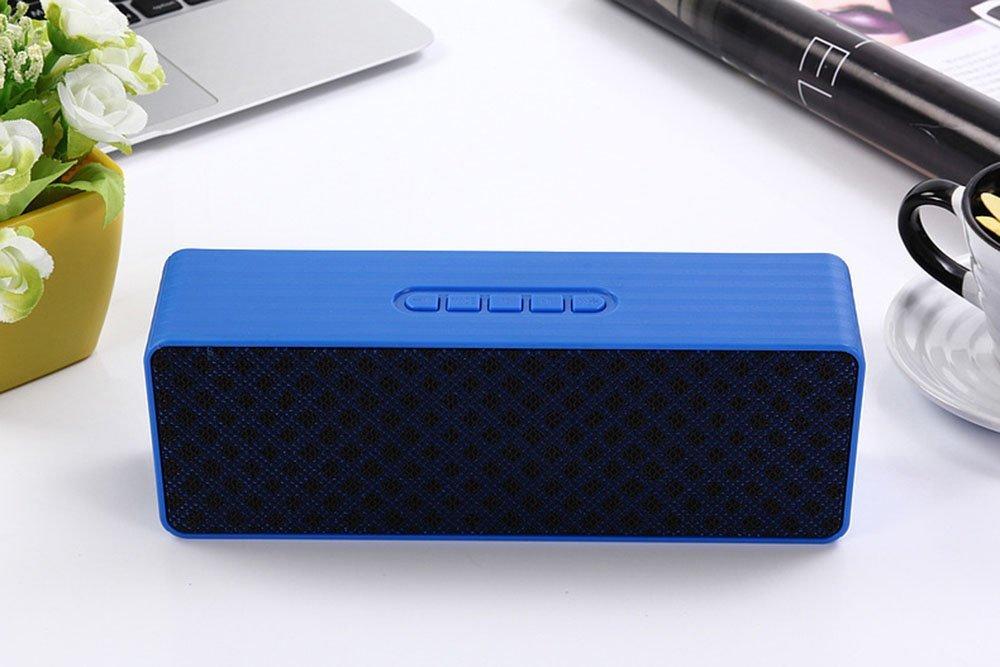 CCLOON Newest Bluetooth Speaker, Portable Outdoor Mini Speaker, Wireless Bluetooth TF Card Insert Speaker (Blue)
