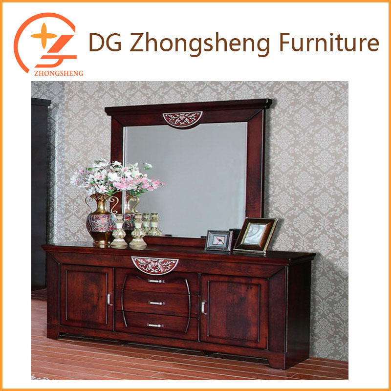 antique bedroom furniture and cheap price wood material bedroom set