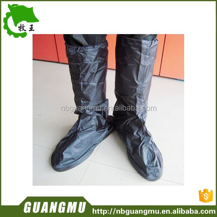 disposable long length protection shoe cover