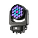 19*40w rgbw 4 in 1 wash zoom led moving head light for live concert stage tv show theatre church cet