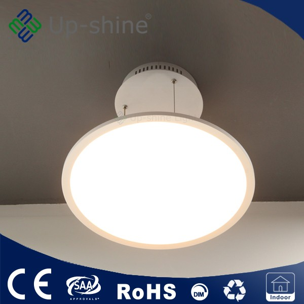 2016 CE RoHS TUV approved 400mm diameter 25W 35W modern lamps led panel light round