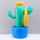 Inflatable cactus ring toos