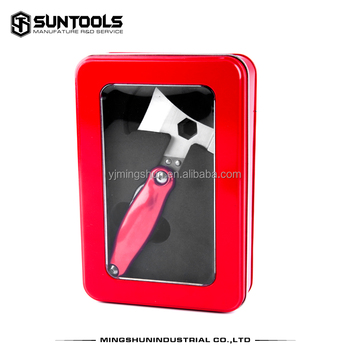 New arrival Outdoor Promotional Gift set Multi tools with hammer and axe