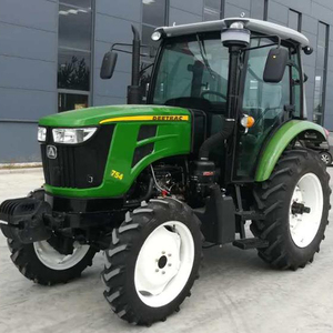 professional best DEETRAC TB754 75hp 4wd farm tractor with front end loader for Australia market