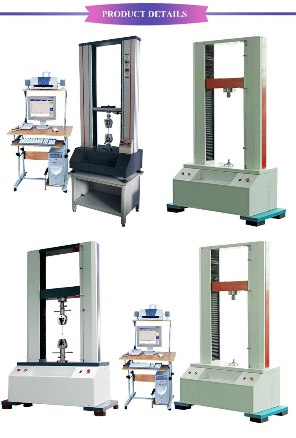 Universal Testing Machine Laboratory Apparatus Textile