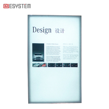 Indoor Aluminum Frame Led UV Photographs Light Box