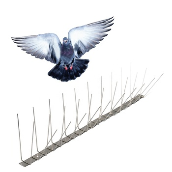 Gkss-5 : Pigeon Spike & Pigeon Repellent - Buy Pest Control Stainless Steel  Pigeon Spikes,Stainless Steel Pigeon Repellent Gel Bird Spike New Priduct