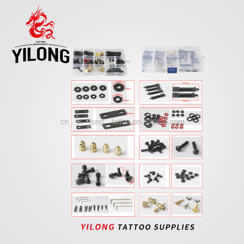over 20 years experience/supplier of tattoo companies /OEM Professional Tattoo Kit Tattoo Machine Parts Kit