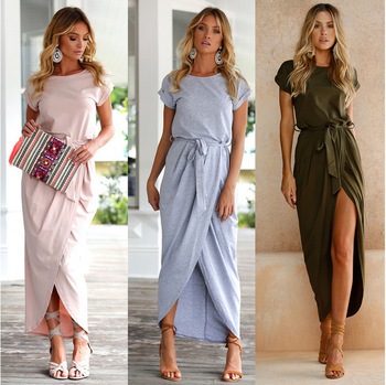 Hot Sale Elegant Ladies Office Dress Work Wear Women Summer Dress