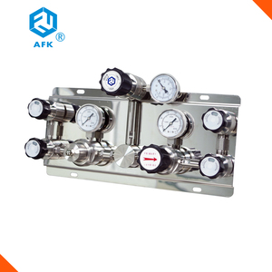 High Quality Gas supply manifolds gas pressure regulator panel system for oxygen nitrogen co2