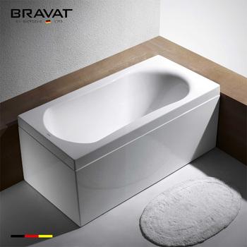 Self Cleaning Modern Bathtub 1.5m Bathtub With Panel B25531W 5