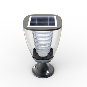 Mini Led Lawn Waterproof Stainless Steel Solar Lamp For Garden