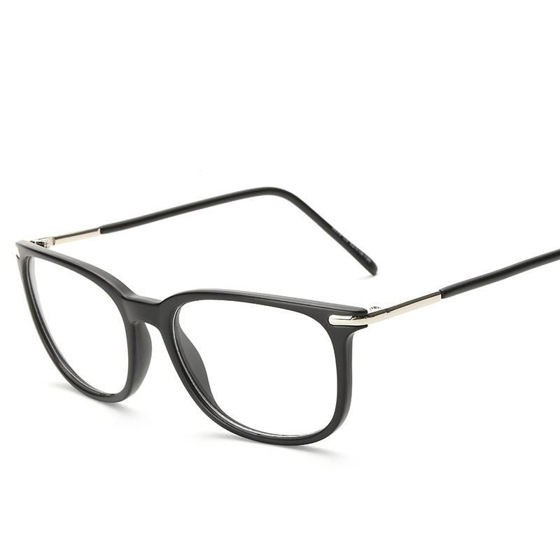 122901 moda 2018 mujeres lente transparente gafas unisex retro gafas ...