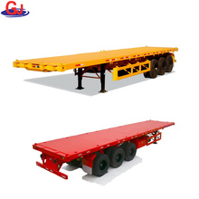 Heavy Duty Equipment Transporter Platform Trailer