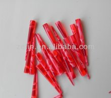 The latest fashion natural red acrylic custom gauges ear taper
