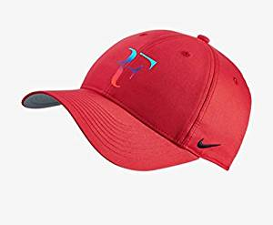e38a322b552 Nike Mens Roger Federer RF Iridescent Pro Hat ( University Red Flint Grey)