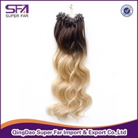 New Ombre Micro Loop Ring Hair Extension