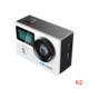 Hot portable HDking K2 4K action camwifi camera with sdk battery operated wifi camera waterproof