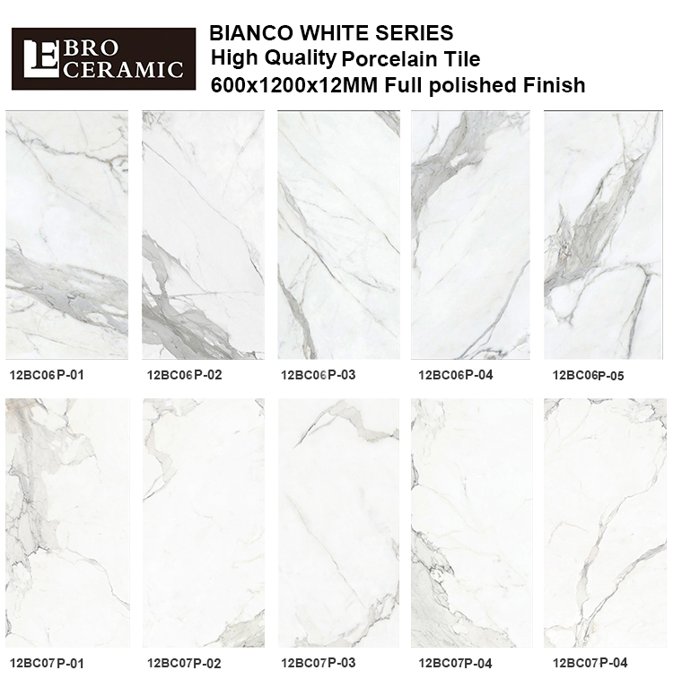 Foshan Ebro ceramic suply big size marble tiles flooring polished porcelain tiles price design12BC06P