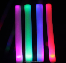 wholesale promotional glow foam stick,cheapest led foam stick for party,concert,wedding