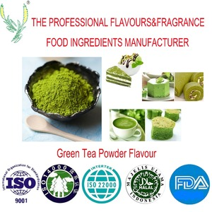 Factory direct sale ,hign concentration of microcapsules powder flavour used in all products,green tea powder flavour