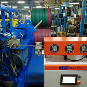 Zes station tyre coil winding machine/Zes station staal coil winding machine
