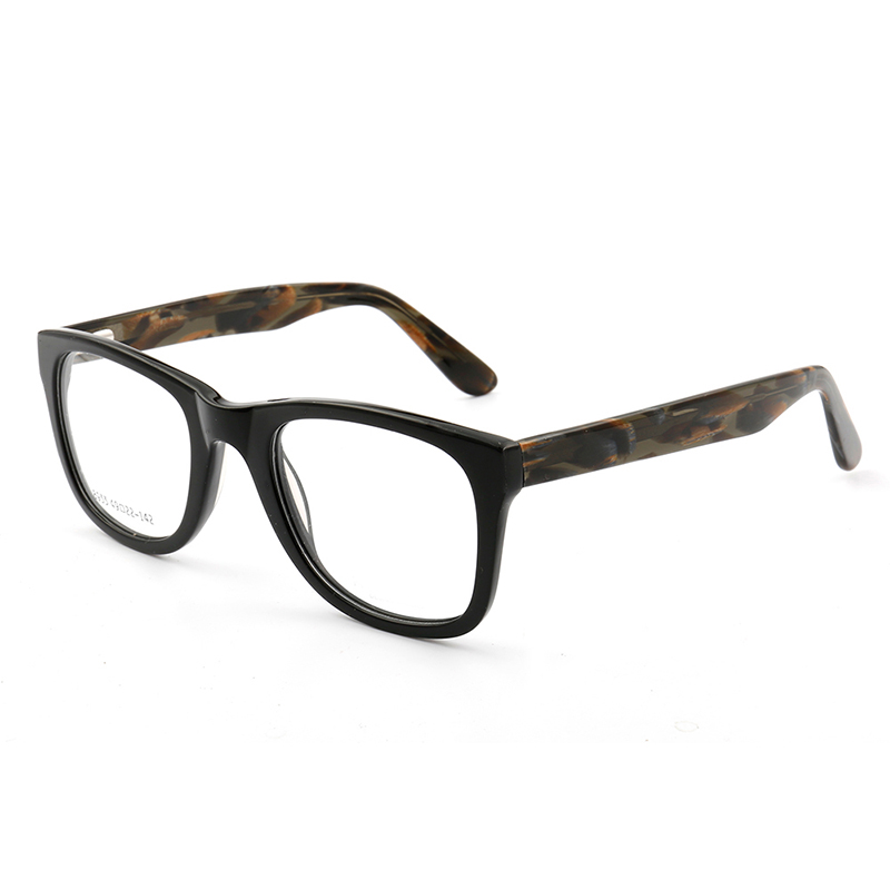 Fashion high quality acetate metal eye glasses wholesale in wenzhou glasses 2018