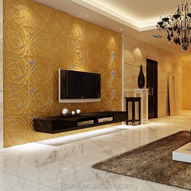 D coratif mur de tissu murale papiers peints enduit de mur id de produit 6024 - Mur separateur decoratif ...