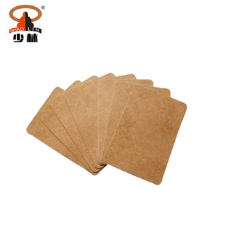 Shaolin Large Custom Patch Non Woven Martial Arts Patch Natural Herbal Muscle Pain Relief Black Plaster