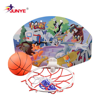 36x26cm Plastic Educational Kid Toy Wall Mounted Basketball Board