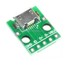 MICRO USB To Dip Parent B Type Mike 5P Patch To Line Transit Board Already Welded Female Head