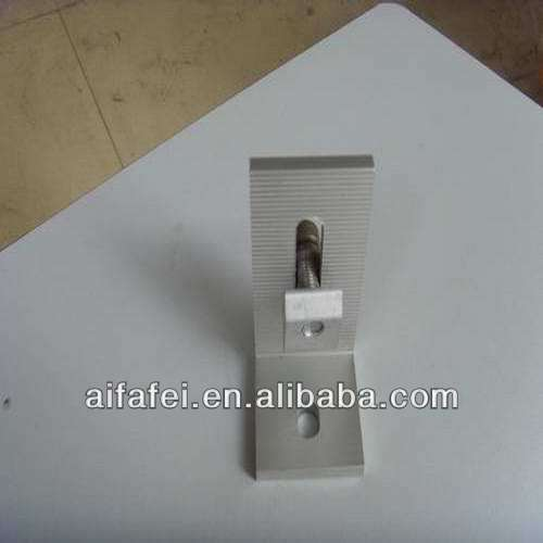 Solar Panel Bracket L Feet Like Z Bracket For Solar Panel Mounting