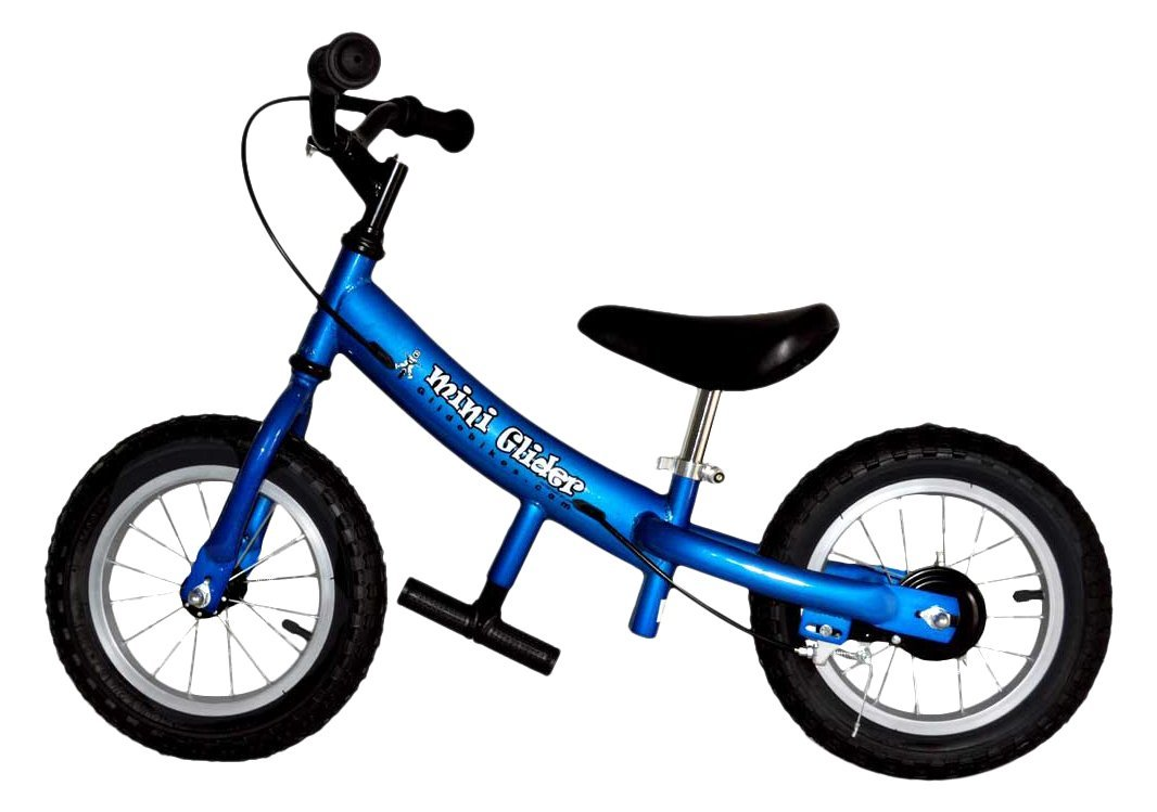 6bf0713023c Get Quotations · Glide Bikes Kids Mini Glider Balance Bike with Patented  Slow Speed Geometry