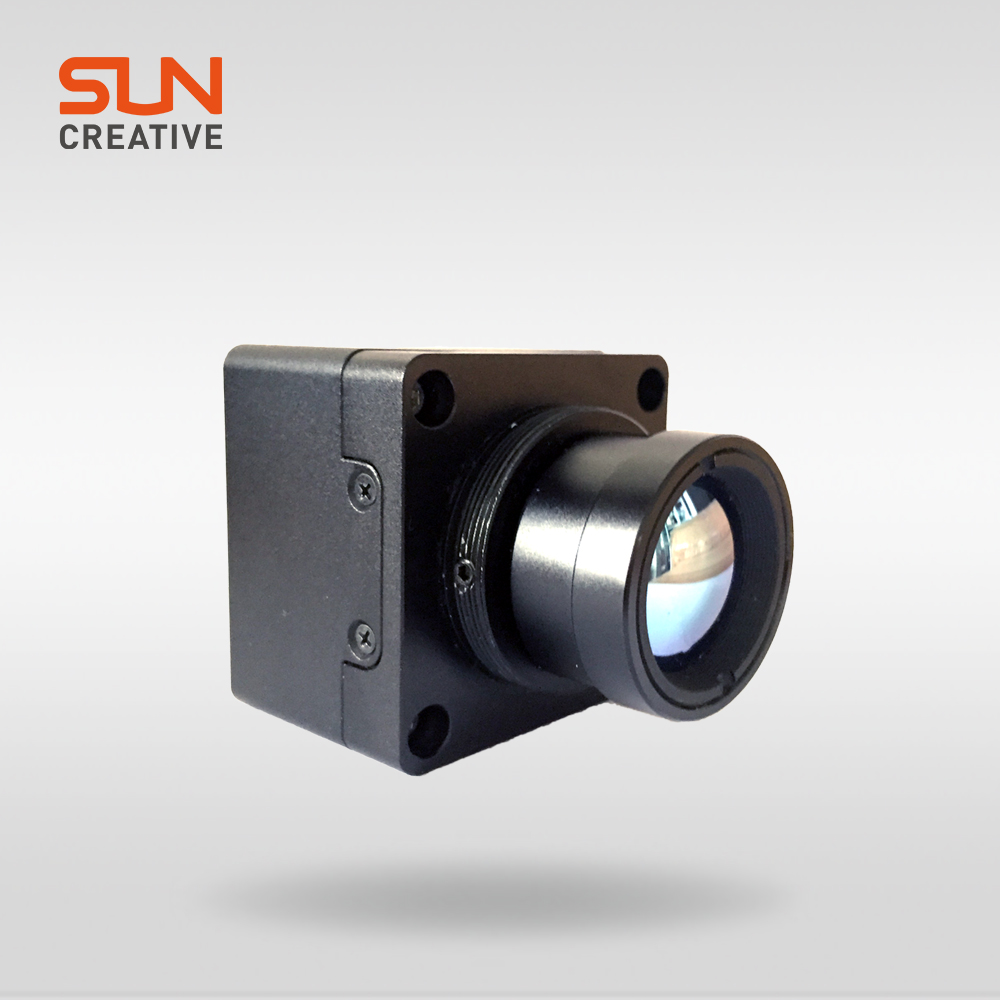 M500 mini high resolution high quality no shutter long range detection thermal imaging camera
