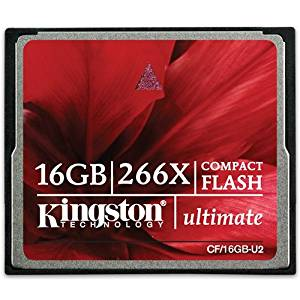 "Kingston 16Gb Ultim Compactflash 266X W/Recvy S/W - By ""Kingston"" - Prod. Class: Computer Components/Digital Media / Sd/Cf Cards"