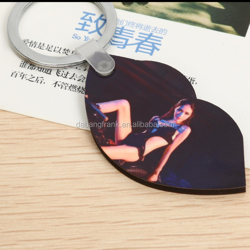 Sublimation Tritium Photo Keychain Scale