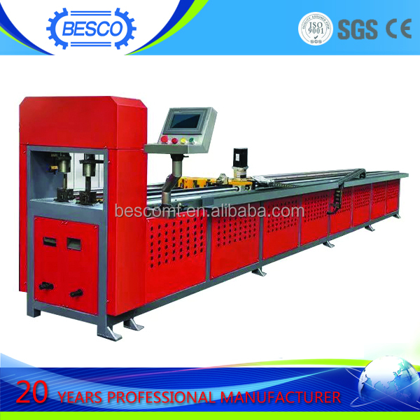 pipe hole punching machine for plastic bag punching