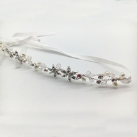 New Arrival Fashion Factory Directly Bridal Rhinestones headchain hair pieces headdress hair accessories
