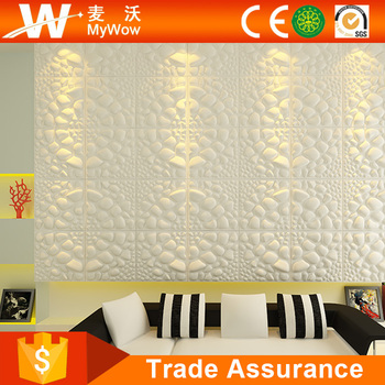 3 Dimensi Dinding Panel Dekorasi Serat Tanaman Alami 3d Panel