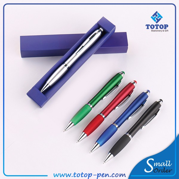 top selling business gifts aluminum metal twin ballpoint pen and pencil with plasitc box