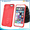 New 3D TPU Shell Lines Back Cover Case For iPhone 6, For iPhone 6 Plus Shell Case