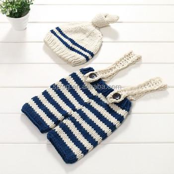 Hand Crochet Knit Baby Boy Pants Newborn Baby Suspenders Buy