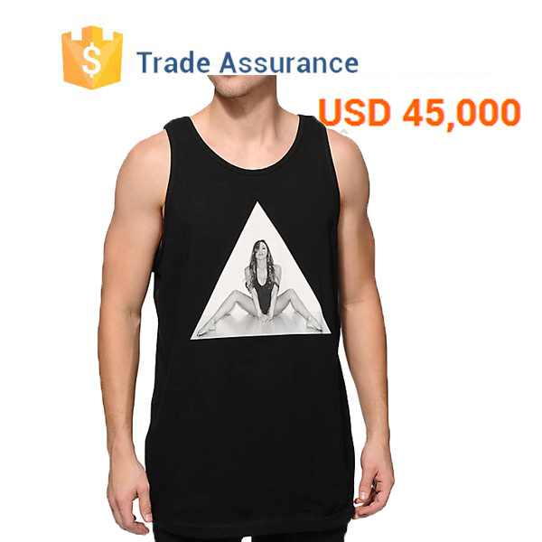 Design Your Own Logo Custom Tank Top Manufacturer In China