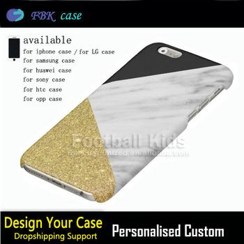 Luxury Marble Case For Iphone 8 Plus Fashion Trendy Phone Casesmix Black White
