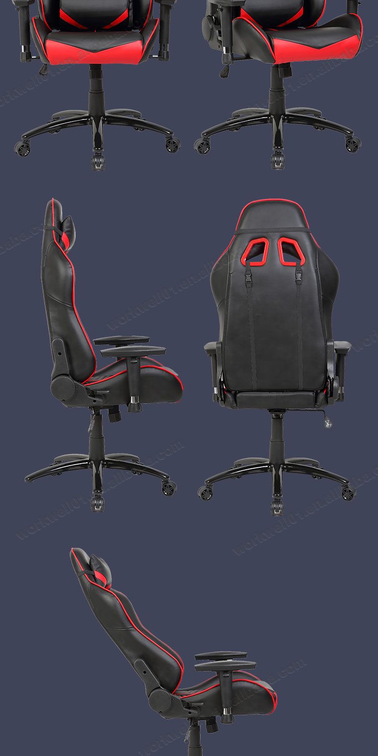 Hot Sale Modern Swivel Gaming Chair with Footrest