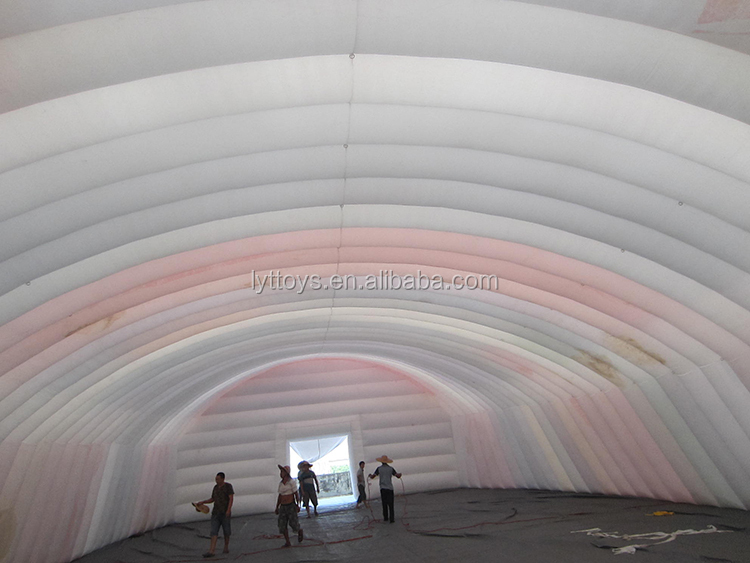 Outdoor portable inflatable event golf dome inflatable tent
