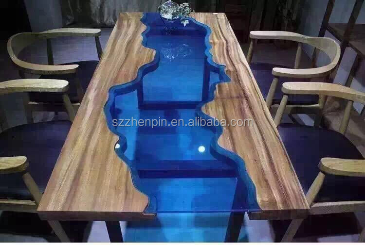 Square Edge Prefinished Glass Inlay Solid Slab Wood Table Top Live Edge Slab  Table Glass Inlay   Buy Brass Inlay Table,Marble Inlay Table Top,Granite  Inlay ...