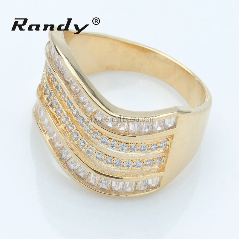 New Design Gold Finger Ring Wholesale Price 1 Gram Gold Ring For